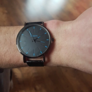 Modny męski zegarek photo review