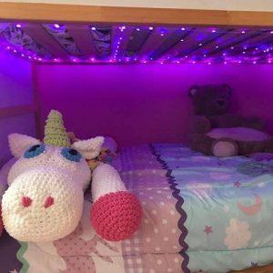 Inteligentne świąteczne lampki LED photo review